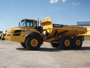 Volvo A40f For Sale Used Volvo A40f Articulated Dump Truck Adt Year 2012