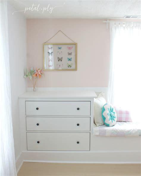 Built In Dresser Diy by Dresser Window Seat Built In With Hemnes