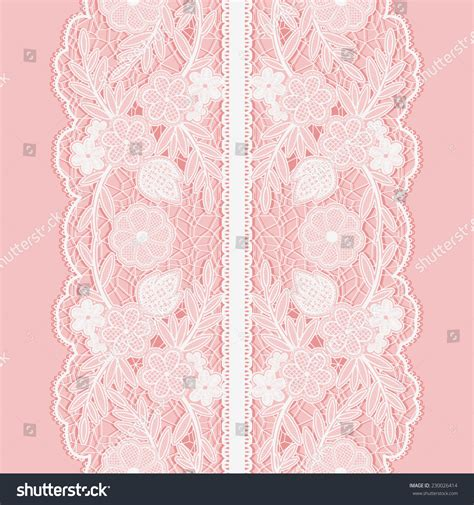broad pattern en français white lace seamless pattern of broad vertical floral tape