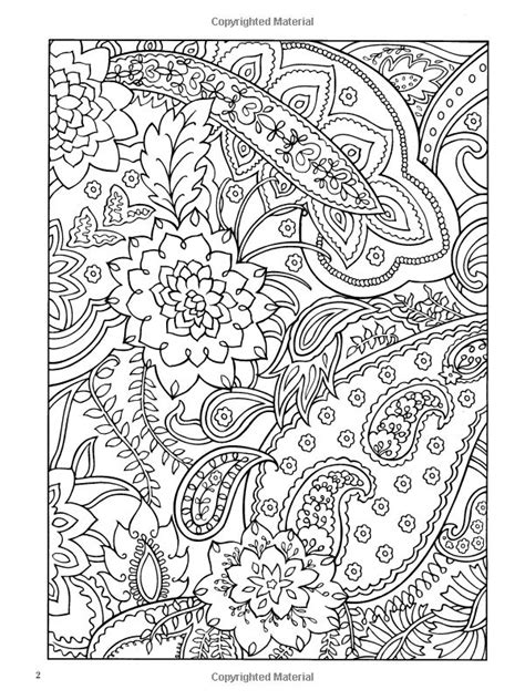 abstract paisley coloring pages paisley designs coloring book dover design coloring books