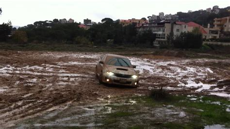 subaru mudding subaru wrx sti 2011 in the mud