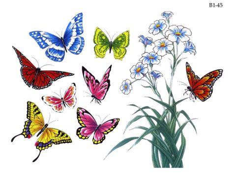 disegni farfalle e fiori flash gratis per tatuaggi disegni per tatuaggi tatuaggi e