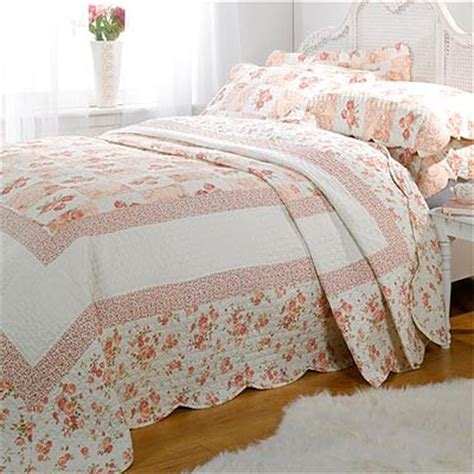 Patchwork Bedspreads Uk - barclay lille patchwork 100 cotton quilted bedspread