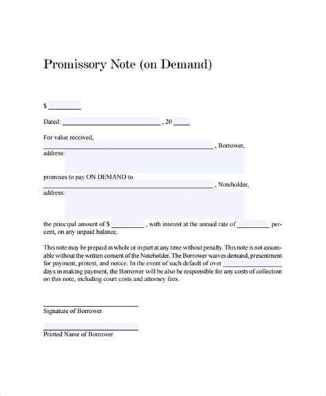 21 Promissory Note Templates Google Docs Ms Word Apple Pages Free Premium Templates Promissory Note Paid In Template