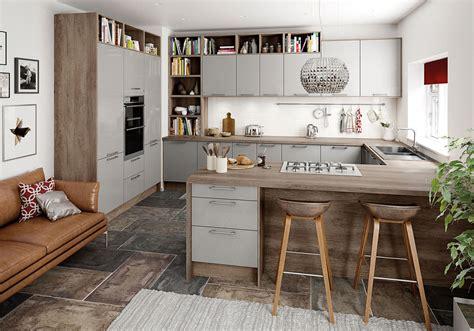 gray studio studio grey kitchen units cabinets magnet kitchens