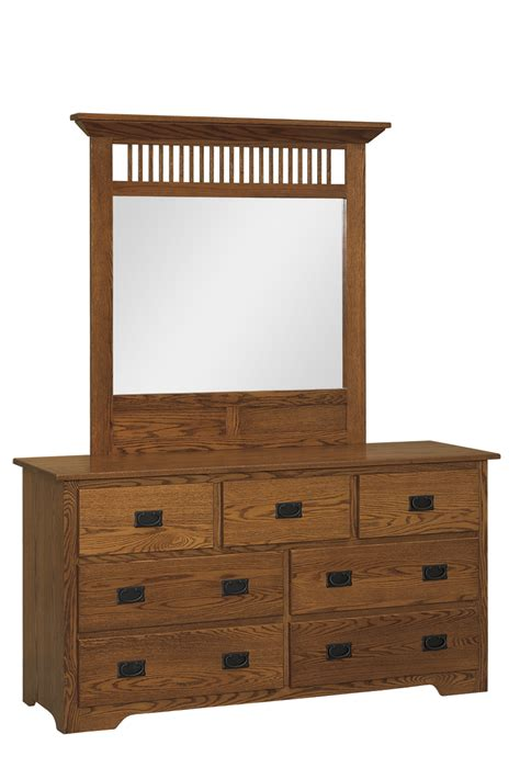 mission style dresser amish furniture connections