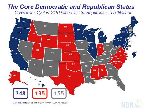 map usa democrat republican romano s weblog just another weblog