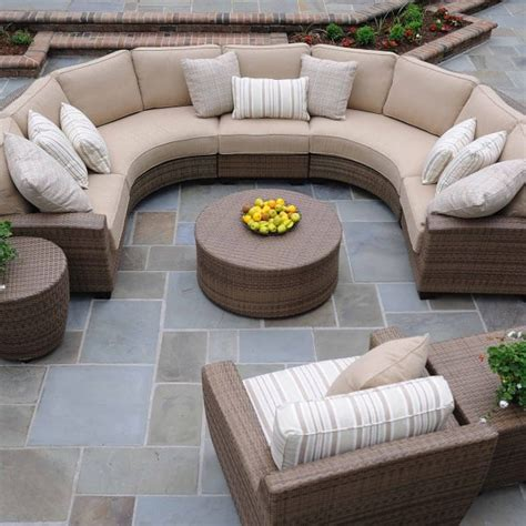 Saddleback Patio Furniture by Saddleback Sectional