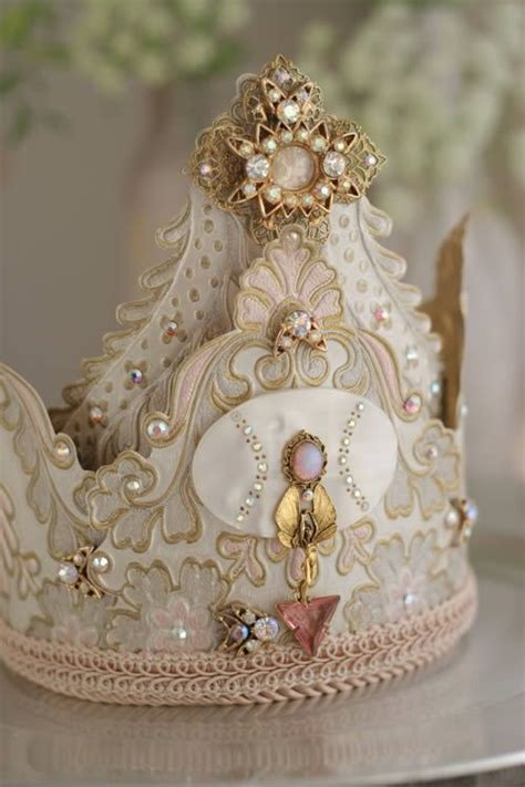 Handmade Crowns - what an incredibly beautiful handmade bedecked