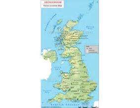 buy uk forests map