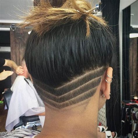 undercut pattern hair 31 trendy undercut styles for bold women stayglam