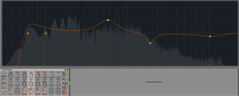 Equalizer Bell Up canvas bezier for parametric eq stack overflow