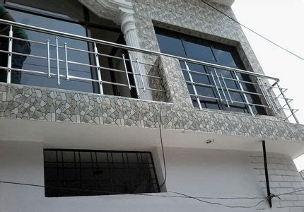 Indian House Interior Design by Designer Stainless Steel Balcony Railings Services In