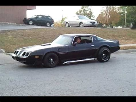1979 trans am sidepipes youtube