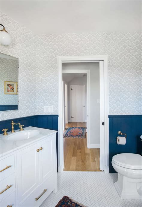 Modern Master Bathroom by Our Classic Modern Master Bathroom Reveal Emily Henderson