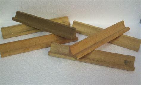 scrabble letter holder lot of 6 vintage wood scrabble tile racks letter holders