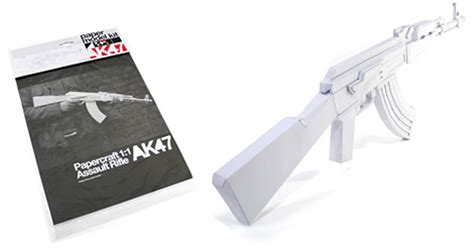 How To Make A Paper Gun Ak 47 - ak47 paper gun model kit