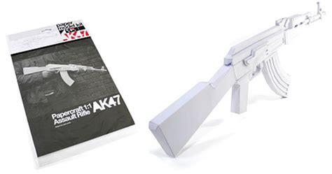 ak47 paper gun model kit