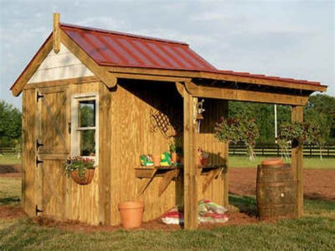 Building A Potting Shed by Planning Ideas Diy Potting Shed Plans Plans For