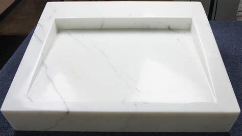Kitchen Sink Demo Statuario Sink Demo Display Marble Tile Direct