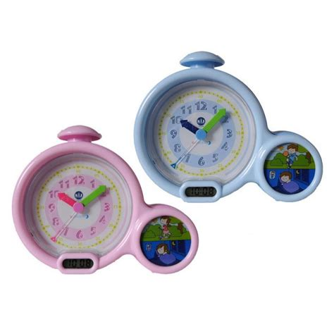 kid sleep classic children s my alarm clock sleeptrainer pink blue ebay