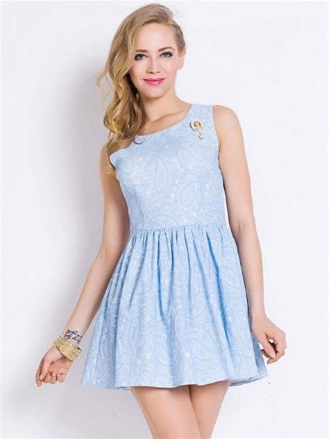 Light Blue Lace Skater Dress Great Ideas For Fashion