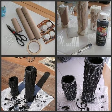 diy scary candles for diy make it - How To Make Scary Decorations
