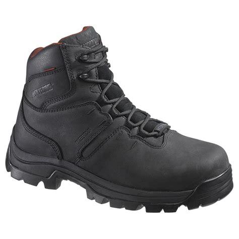 steel toe waterproof work boots s wolverine 6 quot bonaventure waterproof steel toe eh