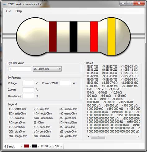 resistor 100k cores software cnc freak resistor eletr 244 nica em casa