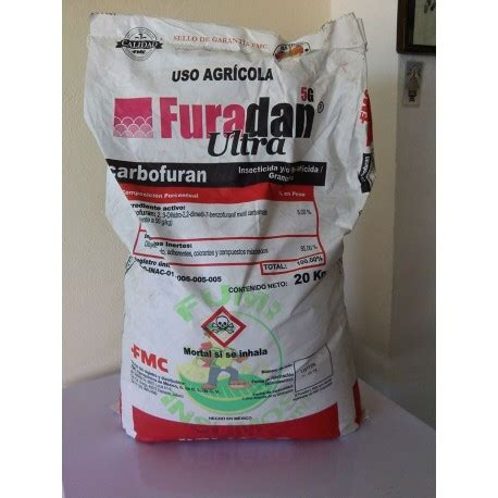 Furadan 5g Ultra furadan 5g ultra carbofuran insecticida nematicida 20 kg