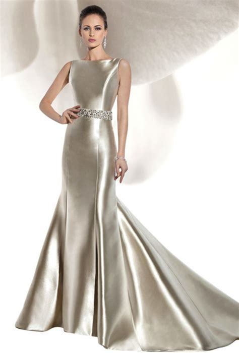 Satin Wedding Dresses by The Liquid Satin Dress Onewed