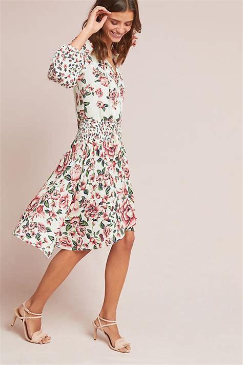 Dress Anabela farm anabela smocked dress anthropologie