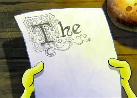 spongebob writing paper spongebob the essay font is free hd wallpaper
