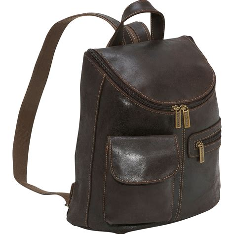 leather backpack purses le donne leather distressed leather womens backpack purse ebags
