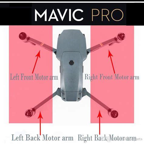 Dji Mavic Motor Arm Front Left 2018 dji mavic pro motor arm left front left back right