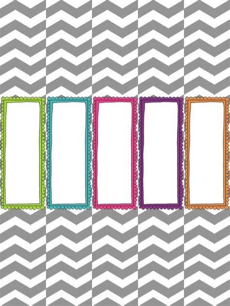 printable binder covers and spines make it look good organizational freebie speechy musings