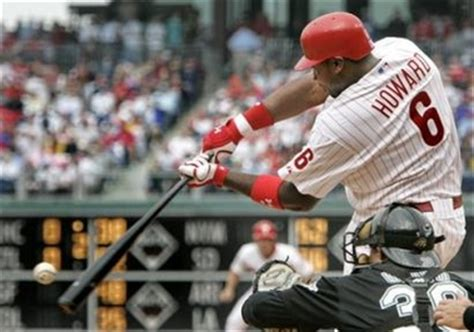 ryan howard swing ryan howard loses his cool ability to make contact the