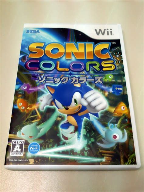 sonic colors wii sonic colors wii japan version collectibles sonic