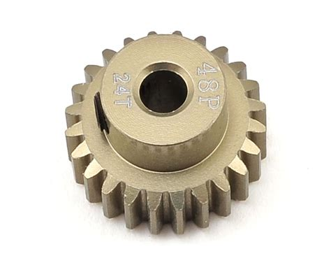 3racing Pinion Gear 48 Pitch 18t ruddog 48p aluminum pinion gear 24t rdgrp 0024 cars