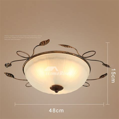 ceiling light fixtures semiflush mount rustic bedroom
