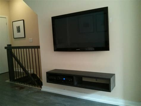 tv home theatre speaker wall mount installation with