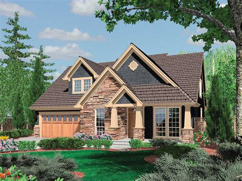 craftsman home plans charming craftsman home plan 6950am 1st floor master