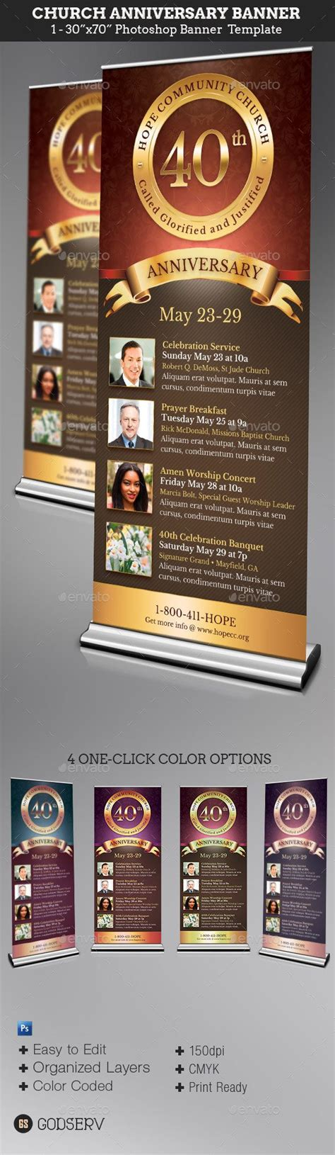 Church Banner Design Templates 17 Best Images About Anniversary Display On Pinterest Behance Timeline And Vinyl Banners
