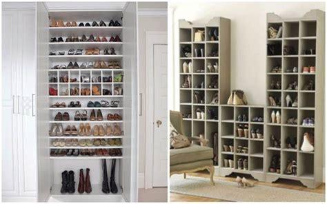ideas para guardar y organizar tus zapatos stop desorden - Vestidor Zapatos