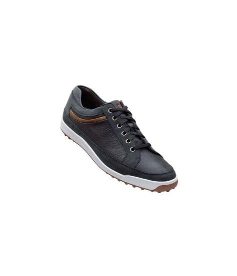 footjoy mens contour casual shoes black taupe 2013