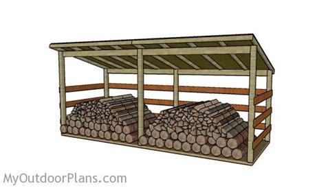 large firewood shed plans myoutdoorplans free woodworking plans and projects diy shed