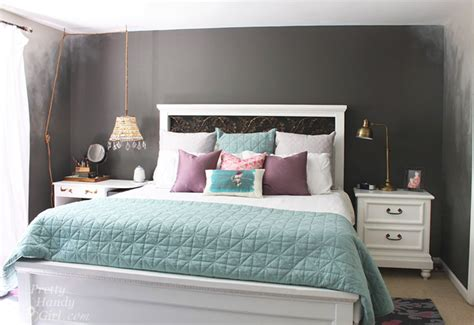 bedroom focal wall how to paint an ombr 233 wall technique pretty handy girl bloglovin