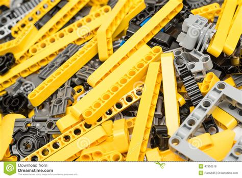 lego technic pieces lego technic pieces pile up editorial stock photo