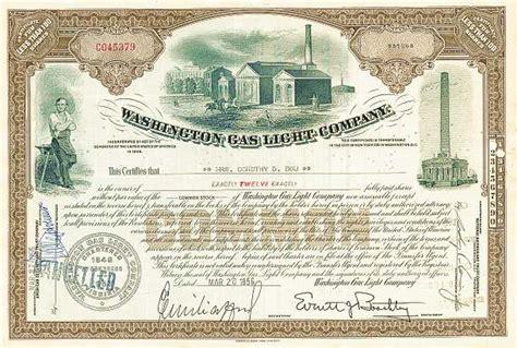 washington gas and light company washington gas light company united states 1956