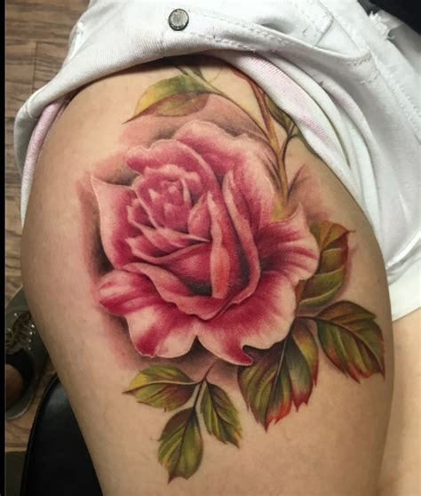 vintage rose tattoo vintage by capone tattoonow